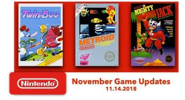 Nintendo Switch Online Adds More NES Games – Metroid, Mighty Bomb Jack, and TwinBee on November 14