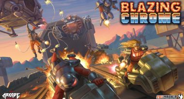 """Throwback Shooter """"Blazing Chrome"""" Set for Early 2019 Release on PC, PS4, and Switch"""