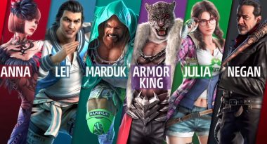Craig Marduk, Armor King, and Julia Chang DLC Characters Revealed for Tekken 7