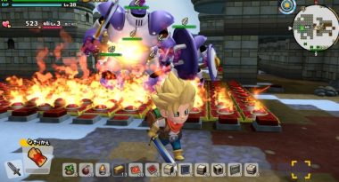 Dragon Quest Builders 2 Details for Endless War Island, Weather Systems