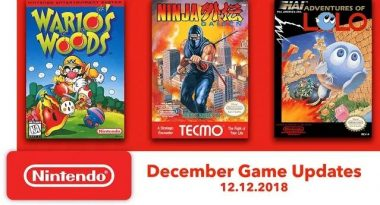 Nintendo Switch Online Adds More NES Games – Ninja Gaiden, Wario's Woods, Adventures of Lolo on December 12