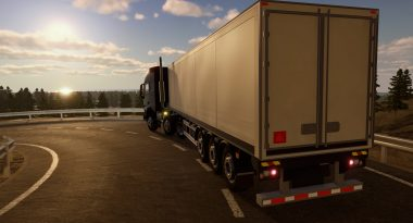 """First Trailer for Cargo-Hauling Sim """"Truck Driver"""""""