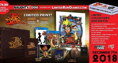 Limited Run Physical Version Announced for Jak and Daxter: The Precursor Legacy