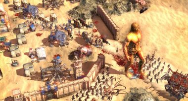 "First Gameplay for RTS and City-Builder Hybrid ""Conan Unconquered"""