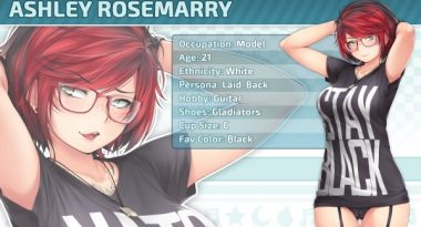 Final New Character Revealed for HuniePop 2 – Tomboy Ashley