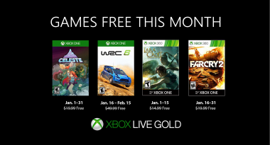 Games With Gold Lineup for January 2019 Confirmed