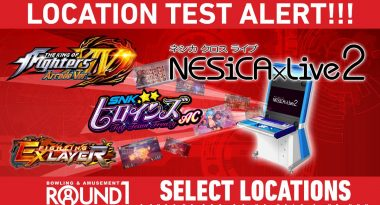 Round 1 is Hosting American Location Tests for NESiCAxLive2 Arcade Games