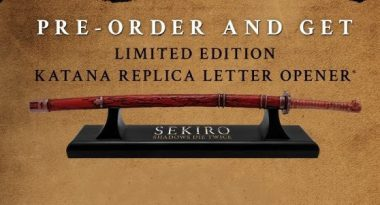 Free Katana Replica Letter Opener for Sekiro: Shadows Die Twice Pre-Orders at GameStop