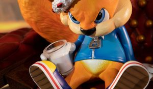 New Conker Statue is Ready to Dominate You