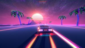 Synthwave Racer OutDrive Gets Steam Achievements