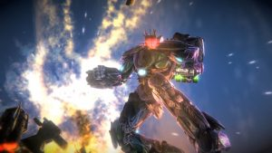 "Mecha-Action Game ""War Tech Fighters"" Blasts to Consoles in Q2 2019"