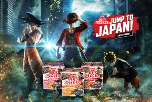 Win a Trip to Japan With a Jump Force and Nissin Cup Noodle Contest