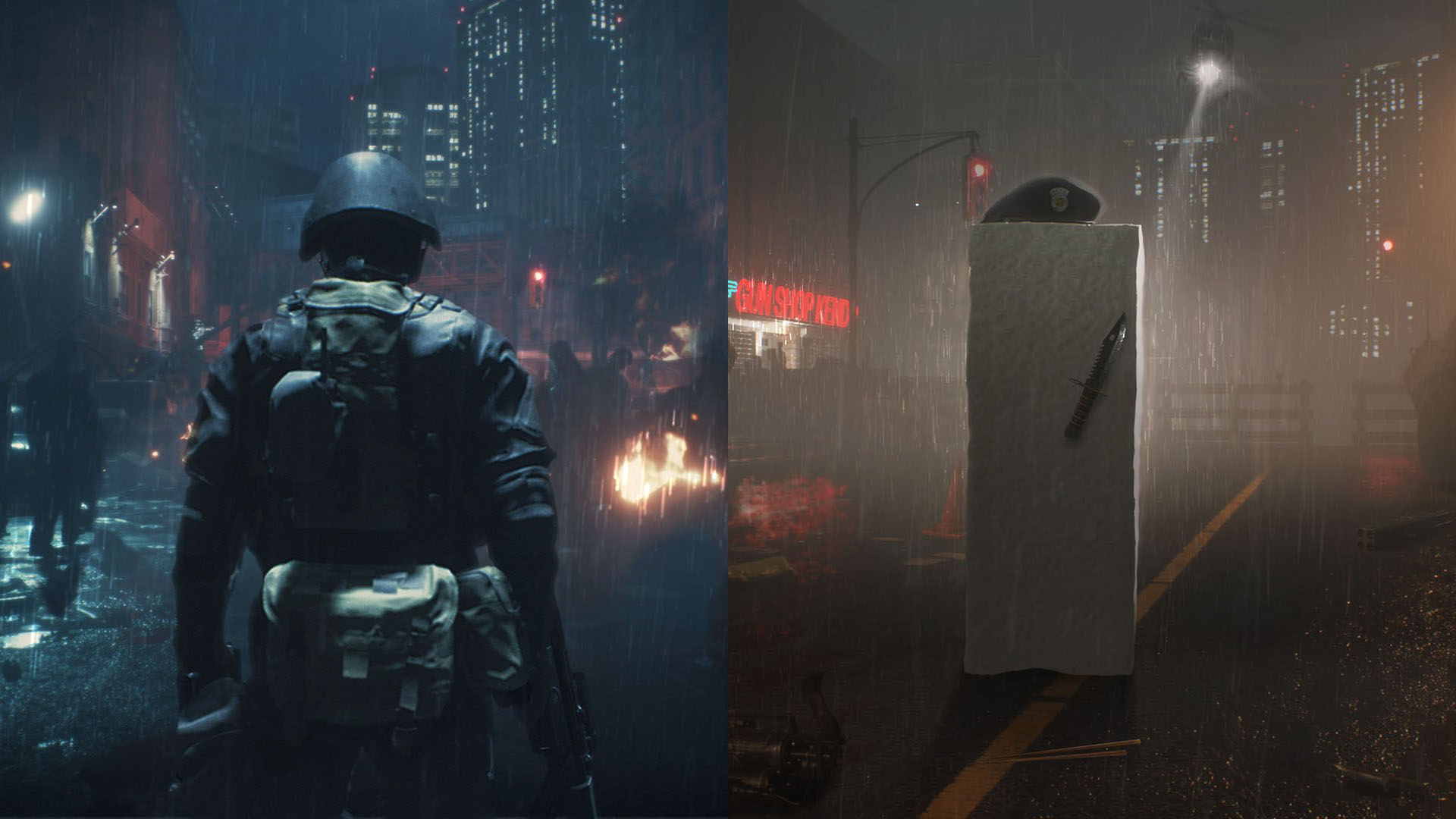 First Screenshots For Hunk And Tofu In Resident Evil 2 Remake
