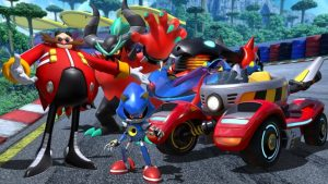 Team Sonic Racing Adds Dr. Eggman, Metal Sonic, and Zavok