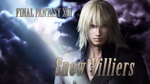 Snow Villiers Joins Dissidia Final Fantasy NT