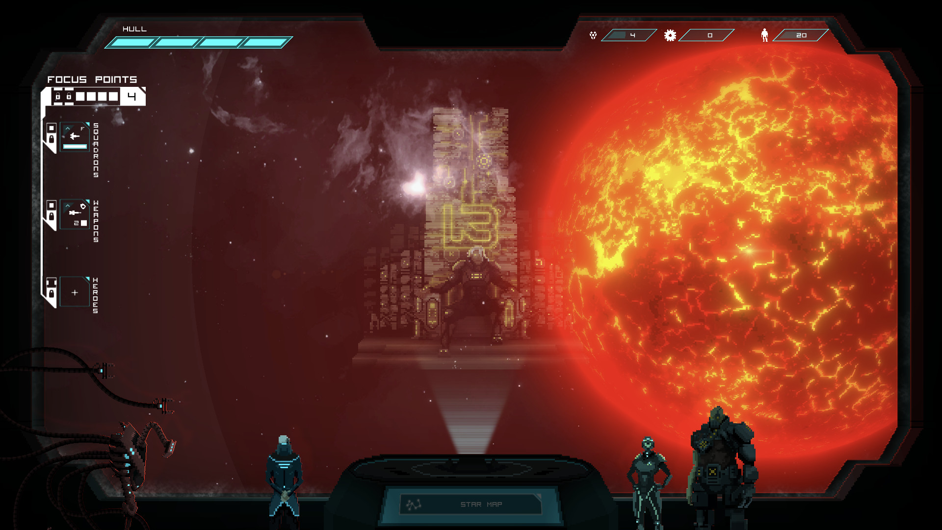 """Tactical Space Roguelite """"Crying Suns"""" Gets New Demo - Niche Gamer"""