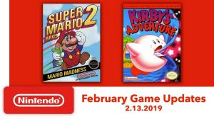 Nintendo Switch Online Adds More NES Games – Super Mario Bros. 2 and Kirby's Adventure