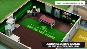 Two Point Hospital Gets Free Interior Design Update