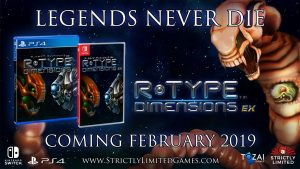 R-Type Dimensions EX Gets a Physical Release on PS4 and Switch