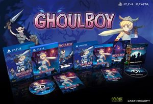 Limited Physical Version Announced for Ghoulboy on PS4 and PS Vita