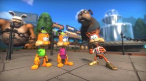 Bubsy: Paws on Fire! Launches in April, Kickstarter for DLC Now Available
