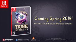 Trine 2 on Switch Launches February 18, Trine Series 1-3 Physical Version Coming in Spring 2019