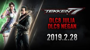 Tekken 7 Julia and Negan DLC Characters Launch February 28