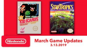 Nintendo Switch Online Adds More NES Games – Kid Icarus and StarTropics