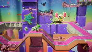 Overview Trailer for Yoshi's Crafted World