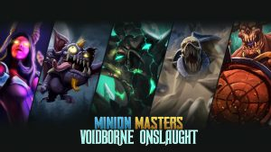 Voidborne Onslaught DLC Now Available for Minion Masters