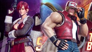 Fighting EX Layer DLC Characters Terry Bogard and Sharon Launch March 26