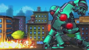 "Gunman Clive Creator's Run 'n' Gun Boss Rush ""Mechstermination Force"" Launches April 4 on Switch"