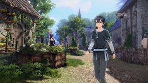 First Screenshots for Sword Art Online: Alicization Lycoris