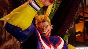 All Might DLC Character Announced for Jump Force