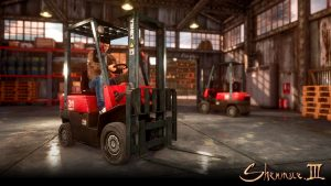 First Look at Forklifts in Shenmue III