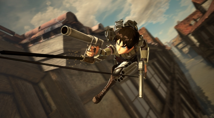 Anti-Personnel ODM Action Trailers for Attack on Titan 2 ...