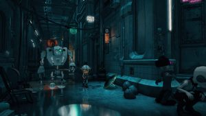 First Gameplay for Cyberpunk Adventure Game ENCODYA