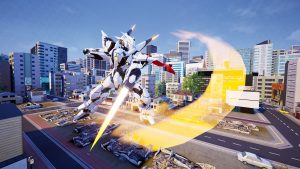 Mirai DLC Character Released for Override: Mech City Brawl