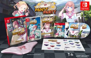 Limited Physical Edition Announced for Switch Version of Panty Party