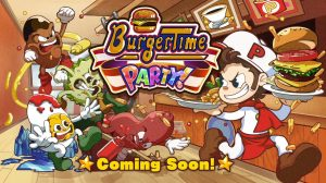 BurgerTime Party! Announced for Switch