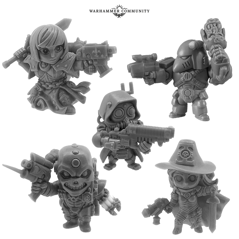 Games Workshop and Bandai Announce Partnership for Warhammer