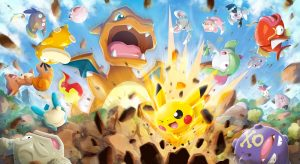 Pokemon Rumble Rush Announced for Smartphones