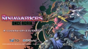 The Ninja Warriors: Once Again Launches July 2019 in Japan, PS4 Version Added