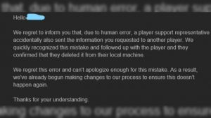 Epic Games Allegedly Sent GDRP Personal Info to Wrong Person