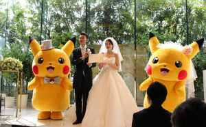 Japan Now Has Official Pokemon Weddings