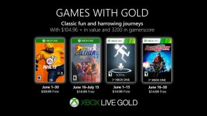 Games With Gold Lineup for June 2019 Announced