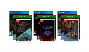 Console Ports for Baldur's Gate I, ll, and Siege of Dragonspear, Icewind Dale, Planescape: Torment, and Neverwinter Nights Launch in Fall 2019