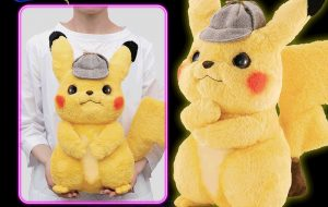 $200 Life-Sized Detective Pikachu Plushie Announced