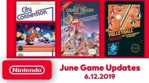Nintendo Switch Online Adds More NES Games – City Connection, Double Dragon II, and Volleyball