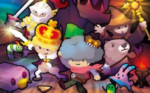 """FuRyu Comedy RPG """"Heroland"""" Coming West for PS4, Switch"""